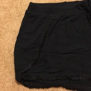 Mossimo Black Cloth Shorts
